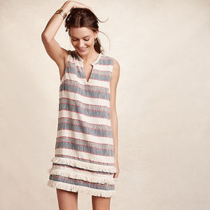 ANTHROPOLOGIE   STRIPED DRESS BY HOLDING HORSES
